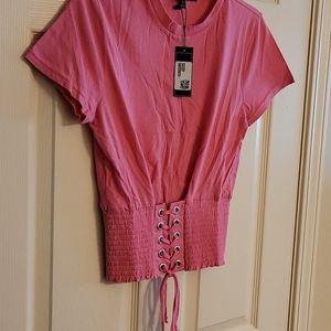 Rampage Pink Top